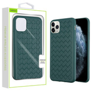 Airium Woven Grain Candy Skin Cover for Apple iPhone 11 Pro - Forest Green