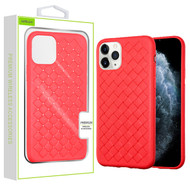 Airium Woven Grain Candy Skin Cover for Apple iPhone 11 Pro - Red