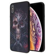 Airium Stereograph Hybrid Protector Cover for Apple iPhone XS Max - 3D Pirate Skull