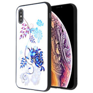 Airium Stereograph Hybrid Protector Cover for Apple iPhone XS Max - 3D Flowers