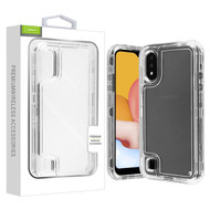 Airium Hybrid Protector Cover for Samsung Galaxy A01 - Transparent Clear / Transparent Clear