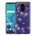 Airium Quicksand Glitter Hybrid Protector Cover for Lg Stylo 4 - Hearts & Purple