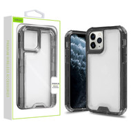 Airium Hybrid Protector Cover for Apple iPhone 11 Pro - Transparent Smoke / Transparent Clear