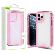 Airium Hybrid Protector Cover for Apple iPhone 11 Pro - Transparent Pink / Transparent Clear