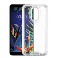 Airium Hybrid Protector Cover for Lg K40 - Transparent Clear / Transparent Clear