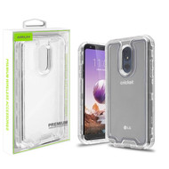 Airium Hybrid Protector Cover for Lg Stylo 5 - Transparent Clear / Transparent Clear