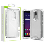 Airium Hybrid Protector Cover for Lg X320 (Escape Plus) - Transparent Clear / Transparent Clear