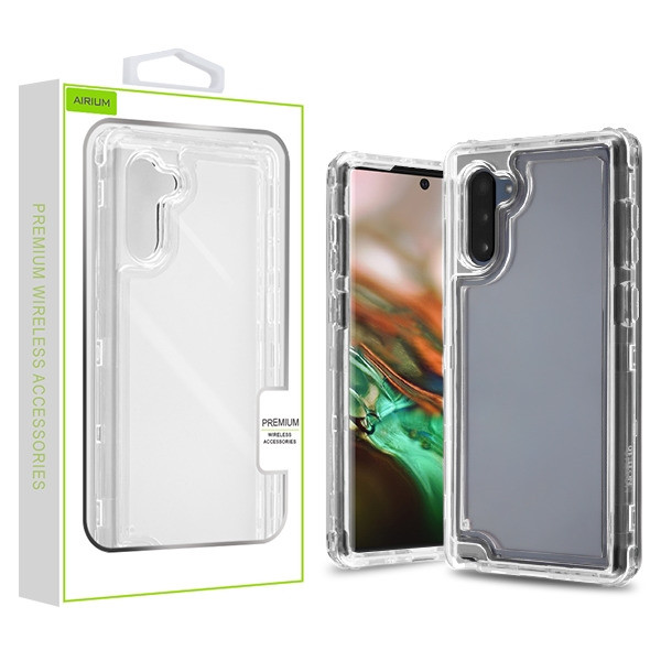 Airium Hybrid Protector Cover for Samsung Galaxy Note 10 (6.3) - Transparent Clear / Transparent Clear
