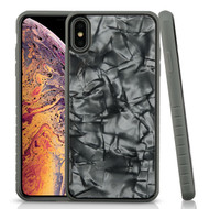Airium Fusion Protector Cover for Apple iPhone XS Max - Gray Shells Gel / Iron Gray