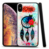 Airium Fusion Protector Cover for Apple iPhone XS Max - Dreamcatcher Love Gel / Black