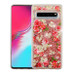 Airium Quicksand Glitter Hybrid Protector Cover for Samsung Galaxy S10 5G - European Rose & Rose Gold