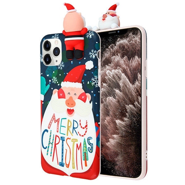 Airium Candy Skin Cover for Apple iPhone 11 Pro Max - Santa