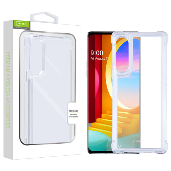 Airium Sturdy Candy Skin Case for Lg Velvet - Transparent Clear