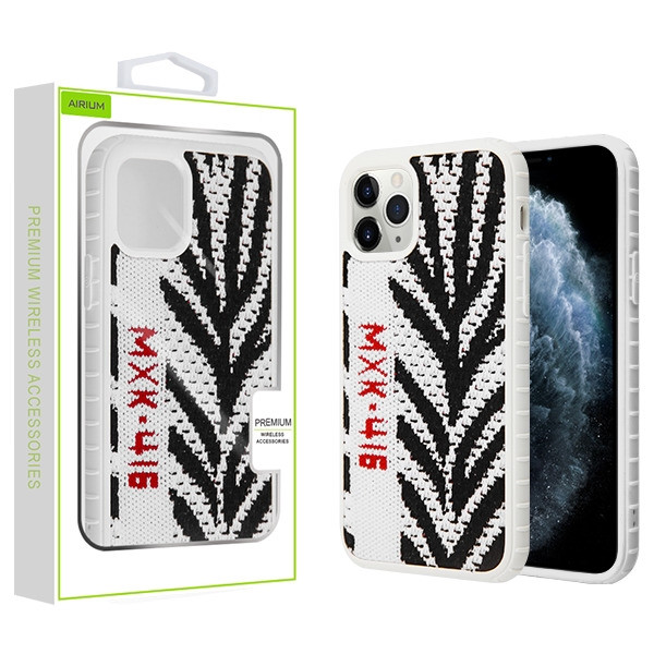 Airium Knitted Fabric Hybrid Protector Cover for Apple iPhone 11 Pro - White