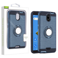 Airium Hybrid Protector Cover (with Stand) for Cricket Icon - Ink Blue / Black