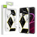 Airium Fusion Protector Cover for T-mobile Revvl 5G - Electroplated Black Marbling