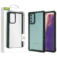 Airium Splash Hybrid Case for Samsung Galaxy Note 20 - Highly Transparent Clear / Black