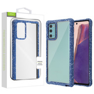 Airium Splash Hybrid Case for Samsung Galaxy Note 20 - Highly Transparent Clear / Blue