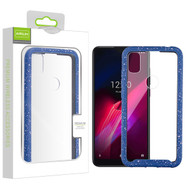 Airium Splash Hybrid Case for T-mobile REVVL 4 - Highly Transparent Clear / Blue