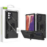 Airium Hybrid Case (with Ring Stand) for Samsung Galaxy Note 20 - Black / Black