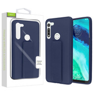 Airium Hybrid Case (with Foldable Stand) for Motorola Moto G Fast - Ink Blue