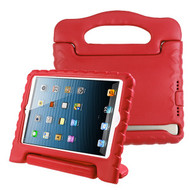 Airium Handbag Kids Drop-resistant Protector Cover for Apple iPad Air (A1474,A1475,A1476) - Red