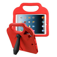 Airium Tie Kids Drop-resistant Protector Cover for Apple iPad Air (A1474,A1475,A1476) - Red