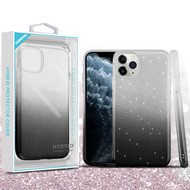 Asmyna Gradient Glitter Hybrid Protector Cover for Apple iPhone 11 Pro - Dark Lilac