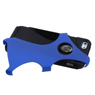 Asmyna Rubberized Cragsman Mixy Protector Cover for Apple iPhone 5s/5 - Dark Blue / Black