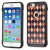 Asmyna Astronoot Protector Cover for Apple iPhone 6s/6 - Classic Argyle Backing / Black