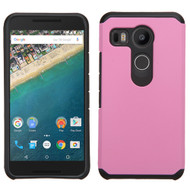 Asmyna Astronoot Protector Cover for Lg H790 (Nexus 5X) - Pink / Black