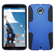 Asmyna Astronoot Protector Cover for Motorola XT1103 (Nexus 6) - Dark Blue / Black