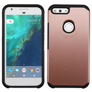 Asmyna Astronoot Protector Cover for Google Pixel XL (5.5) - Rose Gold / Black