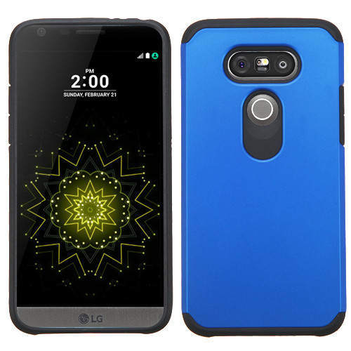 Asmyna Astronoot Protector Cover for Lg G5 - Blue / Black