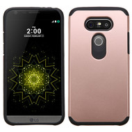 Asmyna Astronoot Protector Cover for Lg G5 - Rose Gold / Black