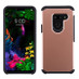Asmyna Astronoot Protector Cover for Lg G8 ThinQ - Rose Gold / Black