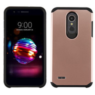 Asmyna Astronoot Protector Cover for Lg K10 (2018) - Rose Gold / Black