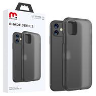 MyBat Pro Shade Series Hybrid Case for Apple iPhone 11 - Semi Transparent Smoke