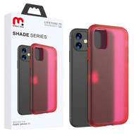 MyBat Pro Shade Series Hybrid Case for Apple iPhone 11 - Semi Transparent Burgundy