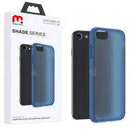 MyBat Pro Shade Series Hybrid Case for Apple iPhone SE (2020) - Semi Transparent Navy Blue