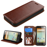 MyBat MyJacket Wallet Element Series for Alcatel 5017 (OneTouch ELEVATE) - Brown