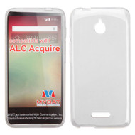 MyBat Candy Skin Cover for Alcatel Acquire - Transparent Clear