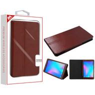 MyBat MyJacket Wallet for Alcatel JOY TAB - Brown