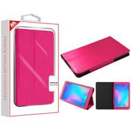 MyBat MyJacket Wallet for Alcatel JOY TAB - Hot Pink