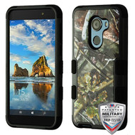 MyBat TUFF Hybrid Protector Cover [Military-Grade Certified] for Alcatel Walters - English Oak I-Hunting Camouflage Collection / Black