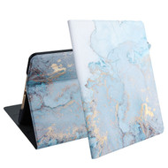 MyBat Marble MyJacket Wallet for Apple iPad 10.2 (2019) (A2197, A2200, A2198) - Blue