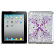 MyBat Gem Gradients Diamante SmartSlim Back Protector Cover for Apple iPad 2 (A1395,A1396,A1397) - Purple Singularity