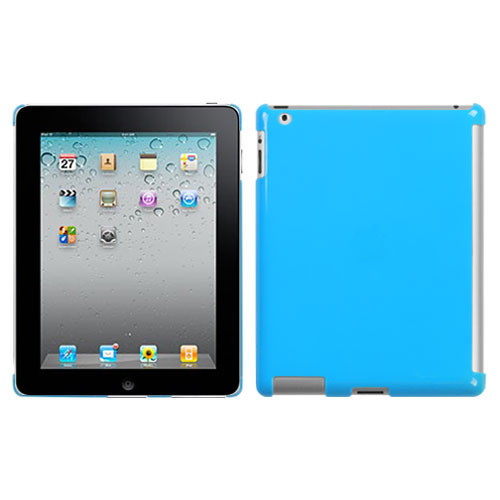 MyBat SmartSlim Back Protector Cover for Apple iPad 2 (A1395,A1396,A1397) - Natural Turquoise