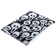 MyBat Back Protector Cover for Apple iPad 2 (A1395,A1396,A1397) - Screaming Ghosts