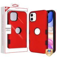 MyBat TUFF Subs Hybrid Case for Apple iPhone 11 - Titanium Red / Black